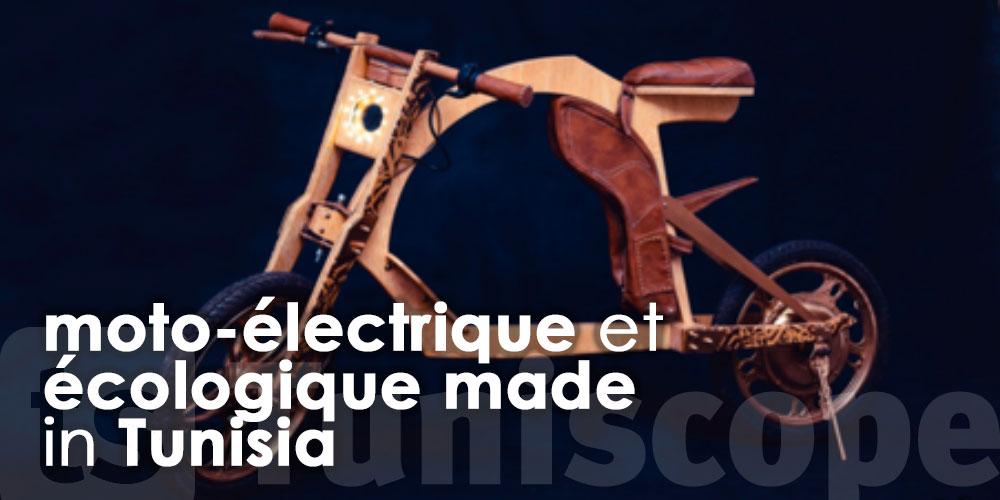 Karka bike première moto-électrique et écologique made in Tunisia