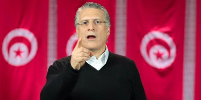 حزب قلب تونس يطالب بالإفراج الفوري عن رئيسه نبيل القروي