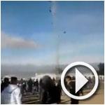 En-Vidéo-Kasserine : Usage de gaz lacrymogène pour disperser les manifestants