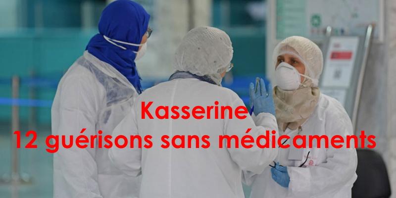 Il n'y a pas eu besoin de médicaments pour guérir 12 malades du covid-19 à Kasserine