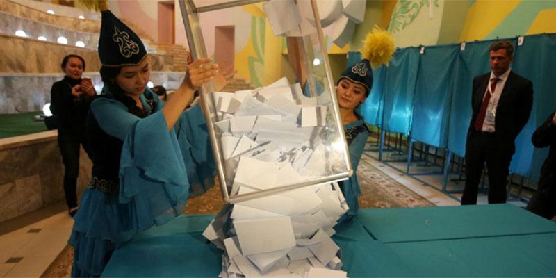 انتخاب توكاييف رئيسا لقازاخستان والشرطة تفرق احتجاجات جديدة
