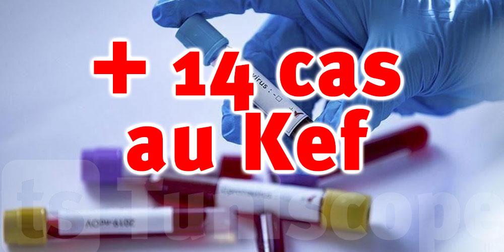 14 nouveaux cas au Kef