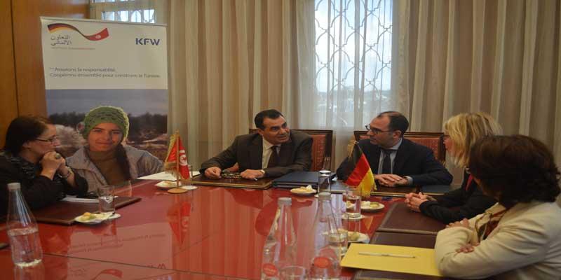 Signature de la Convention de Financement pour l'Extension de la Centrale Photovoltaïque à Tozeur