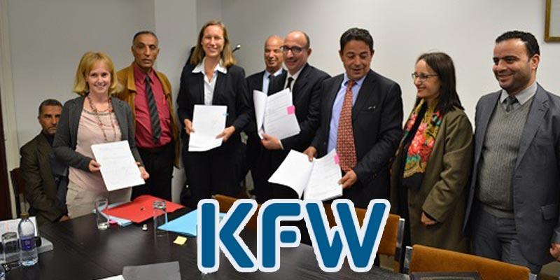 KfW: Signature de huit accords de financement
