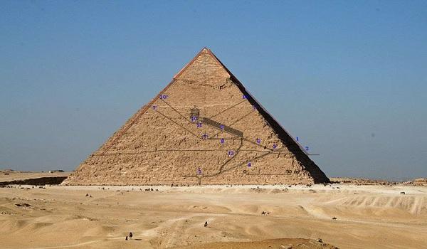 Une énorme cavité découverte au cœur de la pyramide de Khéops
