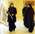 Les femmes de Hizb Ettharir réclament un califat