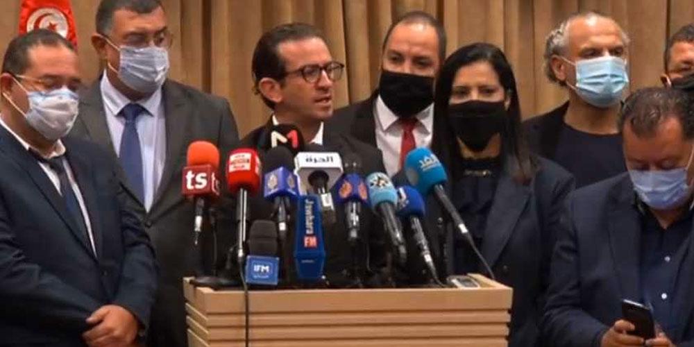 نواب قلب تونس يتبرعون بمنحهم لجمع مبلغ كفالة نبيل القروي