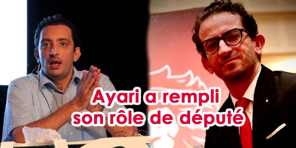 Khlifi : nous remercions Yassine Ayari pour le travail accompli