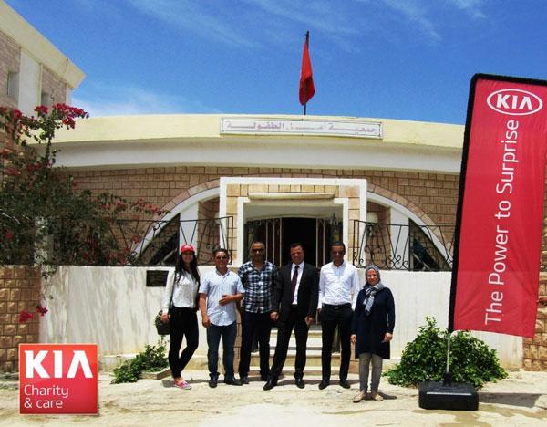 City Cars fait des dons en nature au Réseau Amen Enfance Tunisie