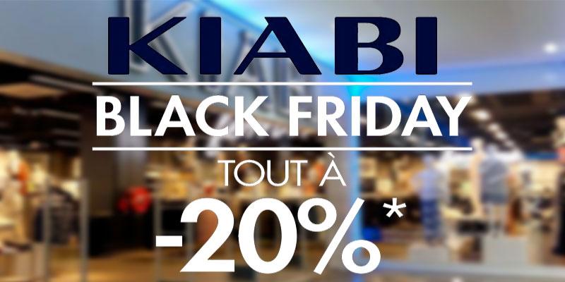 Les magasins Kiabi proposent 20% de réduction