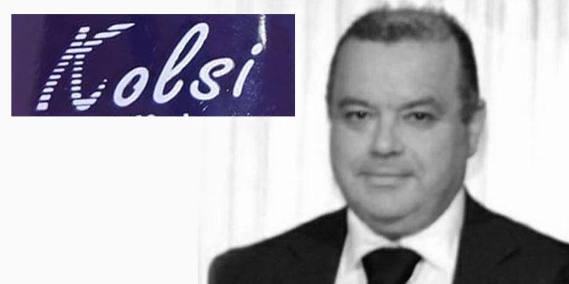 Imed Kolsi fondateur de la marque de cosmétique Kolsi n'est plus