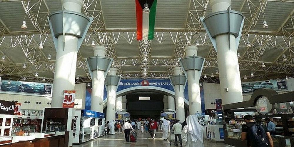 وفاة شاب مصري في مطار الكويت