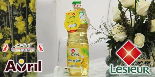 En vidéo: La Tunisie lance la 1ère huile de colza 100 % tunisienne à marque Lesieur