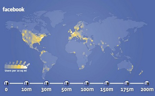 Facebook, bientôt le lieu le plus peuplé du monde !