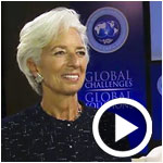 En vidéo : Pour Christine Lagarde c'est un grand message d'espoir et une reconnaissance internationale