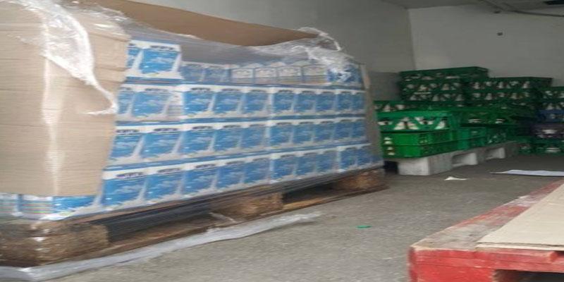 العاصمة: حجز 2566 لترا من الحليب يتم توزيعها على الأكشاك وبائعي الفواكه