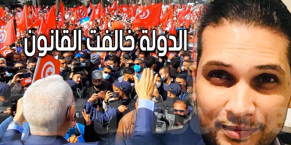 سامي اللجمي: احنا احترمنا إجراءات الدولة، أما نفس الدولة خالفت القانون