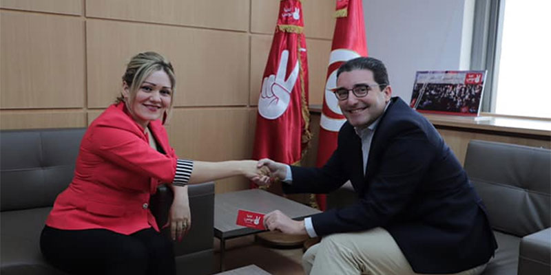 Après sa démission de Nidaa Tounes, Lamia Mlih rejoint Tahya Tounes