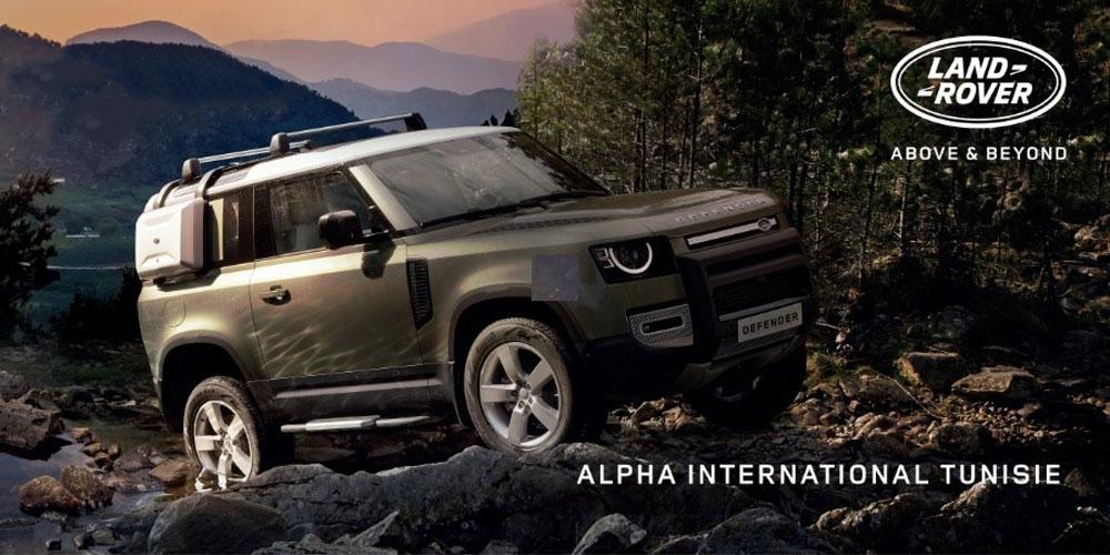 En vidéo : Alpha International annonce l'arrivée du tout nouveau Land Rover Defender en Tunisie à travers un coup de com Iconique