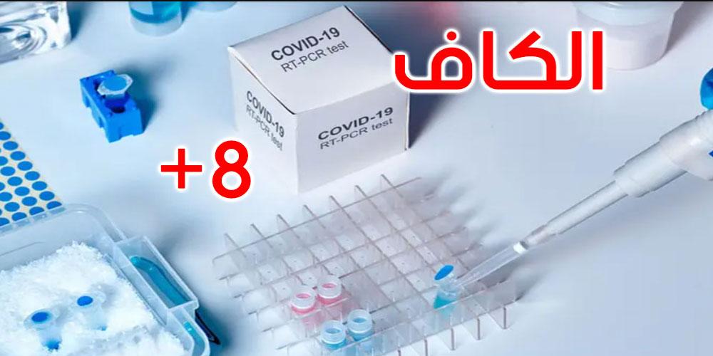الكاف: 8 إصابات محلية جديدة بفيروس كورونا