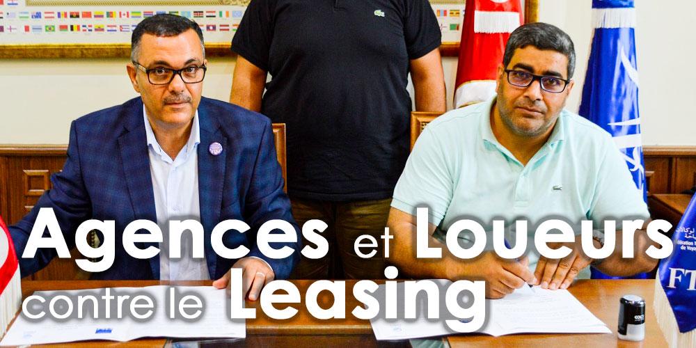 Les Agences et Loueurs menacent les sociétés de Leasing