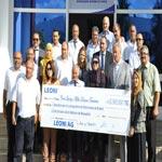 Leoni consacre 50 000 € à deux projets à caractère social