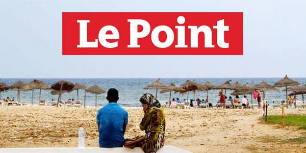 Quand LePoint raconte la Dolce vita à Hammamet : plage, hijab, mitraillettes et cocotiers