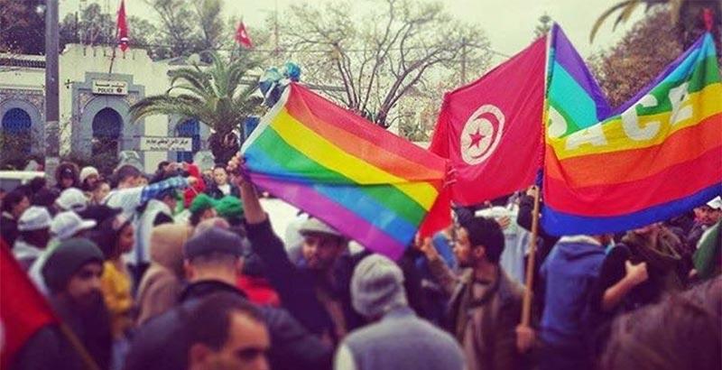 سوسة: علم ''المثلية الجنسية'' في دخلة الباك سبور