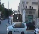 بالفيديو: ليبيا: استعراض مسلح لشرطة الإسلام في درنة تعبيرا عن مبايعة داعش