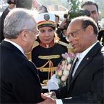 بالصّور : استقبال الرئيس اللبناني العماد ميشال سليمان