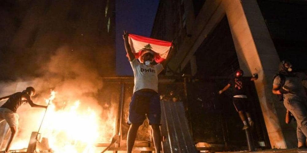 لبنان: تجدد المواجهات في بيروت وسقوط 42 جريحا
