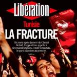 Tunisie, La fracture comme une du journal Libération