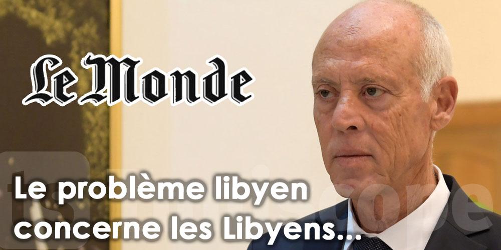 ''La Tunisie n'acceptera jamais la partition de la Libye''
