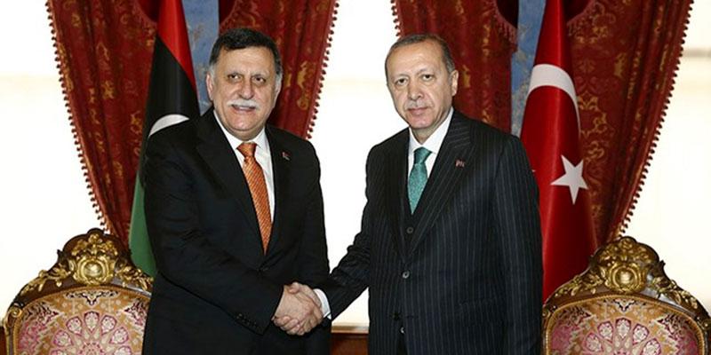Libye : Nouvel accord militaire entre Sarraj et Erdogan