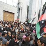 Tunisie : Manifestation des Libyens à l'Avenue Mohamed 5