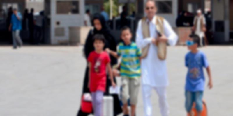 Hausse du nombre des familles libyennes venant en Tunisie
