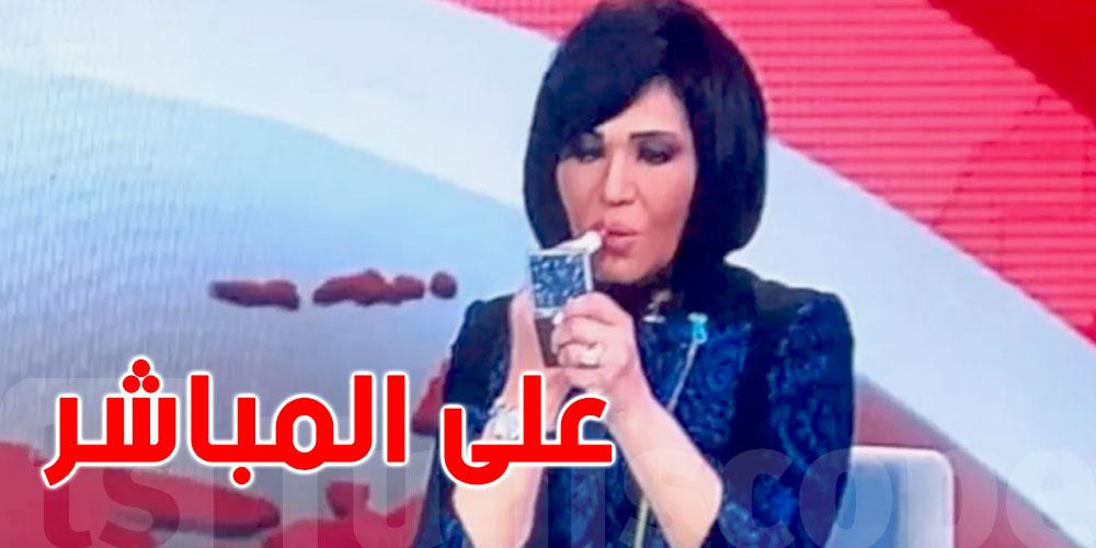 بالفيديو..إيقاف مذيعة مصرية وضعت أحمر شفاه على الهواء