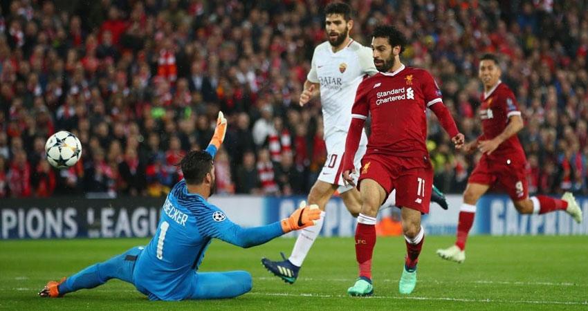 ليفربول يضع قدما في نهائي دوري أبطال أوروبا