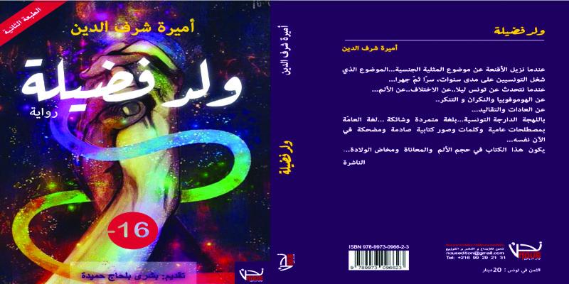 كتاب 'ولد فضيلة': جرأة كاتبة في طرح جديد للمثلية في تونس