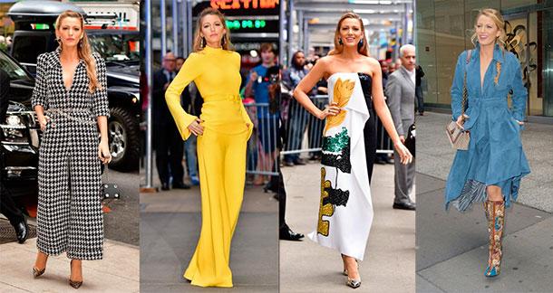 En photos : Blake Lively porte 7 tenues différentes en une journée…