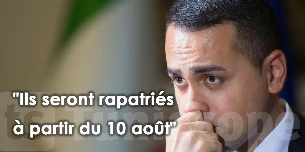 ''Les migrants tunisiens arrivant en Italie seront rapatriés à partir de lundi''