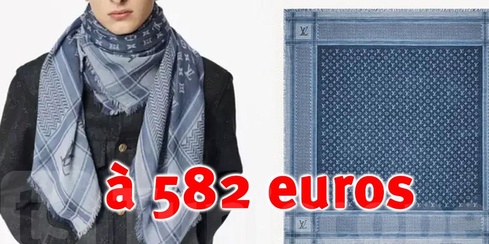 Louis Vuitton retire de la vente une Kouffieh à 582 euros