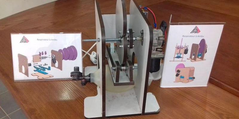 أساتذة جامعة صفاقس ومهندسي الجهة ينجحون في إبتكار جهازي تنفس اصطناعي