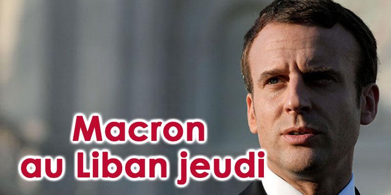 Macron se rend au Liban jeudi