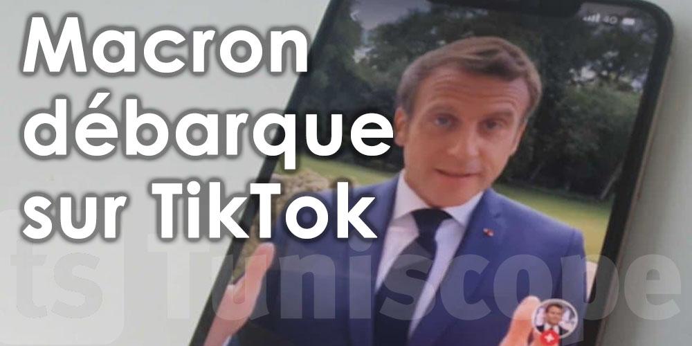 En vidéo: Macron débarque sur TikTok