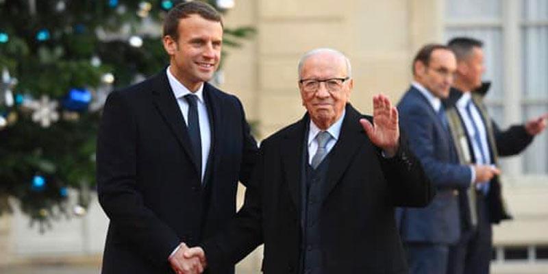 Emmanuel Macron assistera aux obsèques de Béji Caid Essbsi