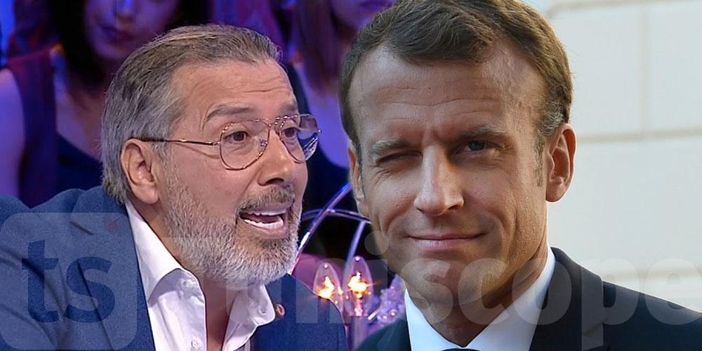 Quand la famille Bssais plaisante, Macron réagit