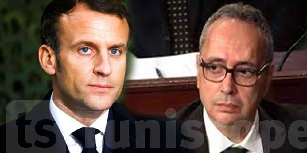 M Karim Jamoussi remet ses lettres de créance à Emmanuel Macron