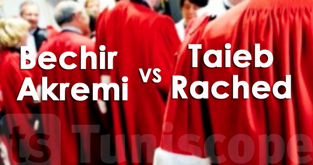 L'ordre judiciaire examine l'affaire qui oppose Akremi à Rached