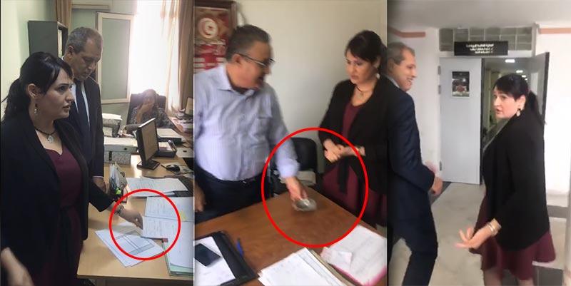بالفيديو: ماجدولين الشارني تنشر ''تكركير'' موظفي وزارة الشباب والرياضة